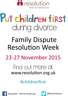 Dispute Resolution Week 2015